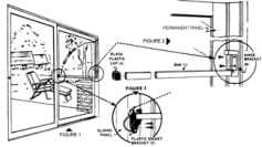 Sliding Glass Door Lock Example