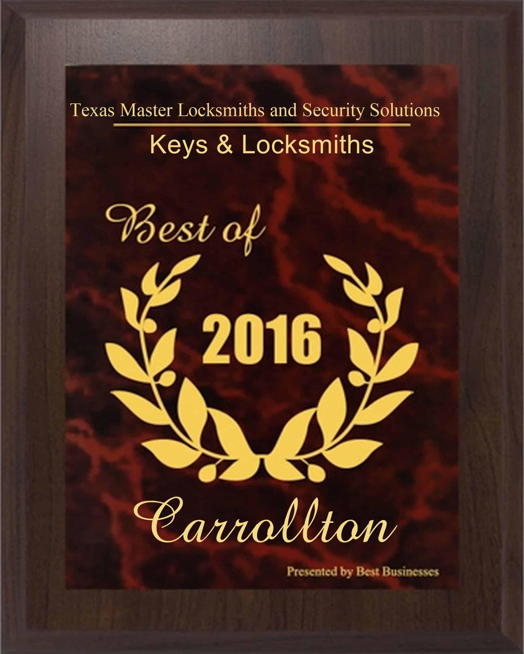 Carrollton tx Best in Business 2016
