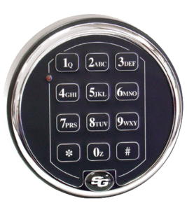 S & G digital safe lock