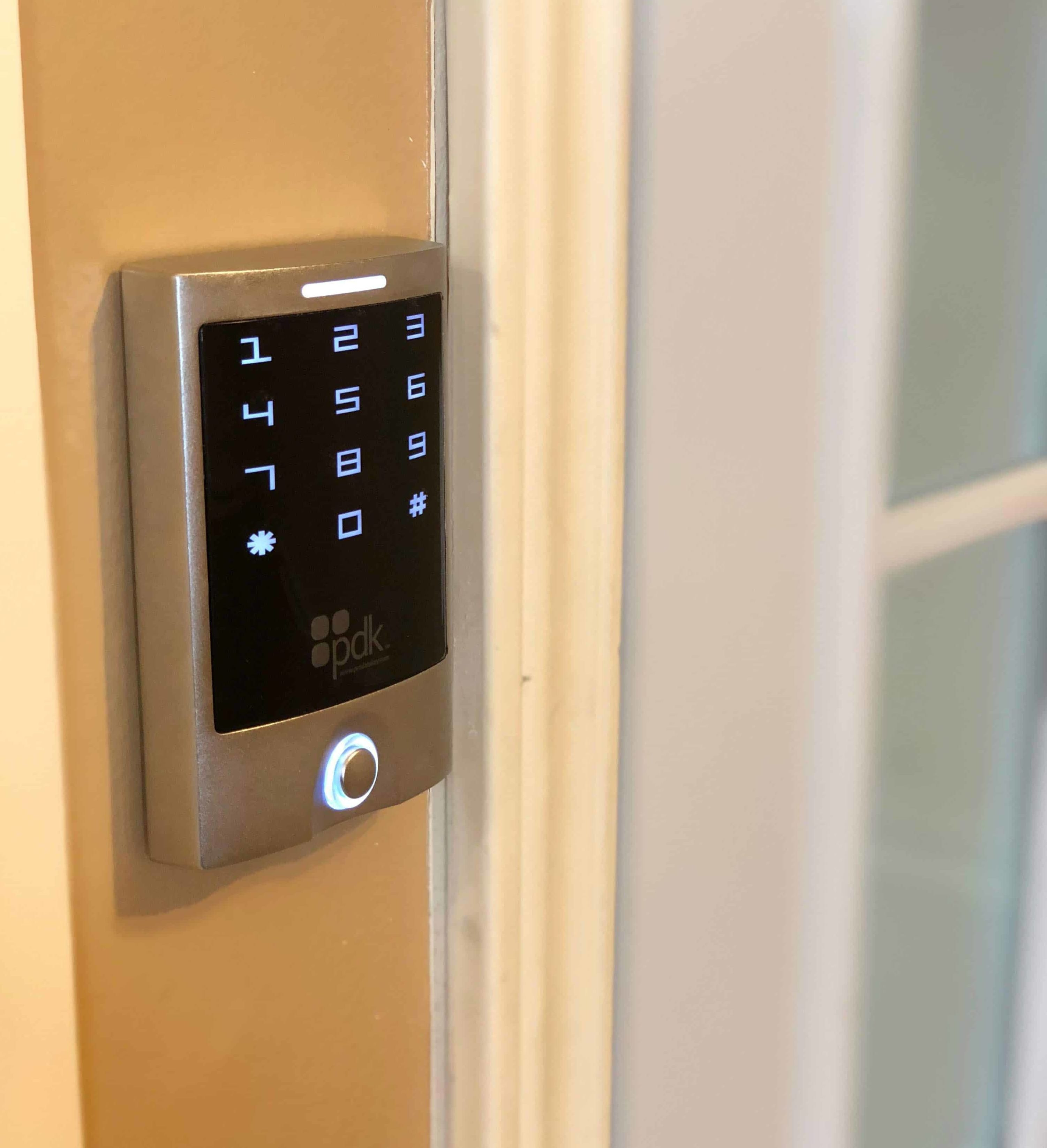 access control keypad from Texas Master Locksmiths and Security Solutions
